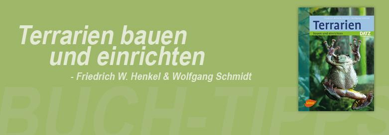Terrarien bauen und einrichten von Friedrich-Wilhelm Henkel & Wolfgang Schmidt