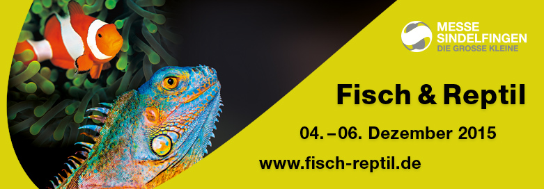 Messe: Fisch & Reptil 2015