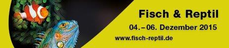 Terraristik-Messe: Fisch & Reptil 2015